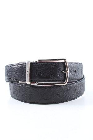 Coach Faux Leather Belt black casual look