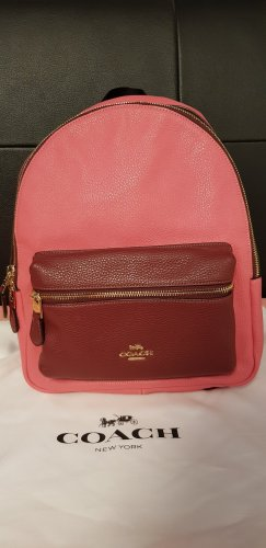 Coach School Backpack pink