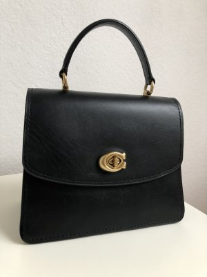 Coach Borsetta mini nero-oro