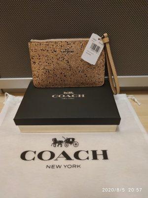 Coach Pochette gold-colored