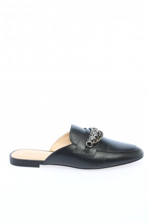 "Coach Sabot ""Faye Multi Chains Loafer Slide"" czarny"