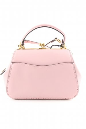 Coach Satchel pink casual look