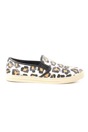 Coach Slip-on Sneakers leopard pattern casual look