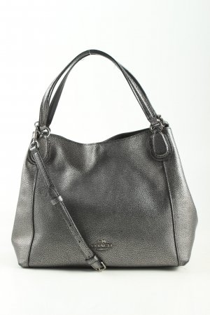 Coach Shoulder Bag silver-colored business style