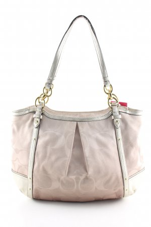 Coach Shoulder Bag cream graphic pattern casual look