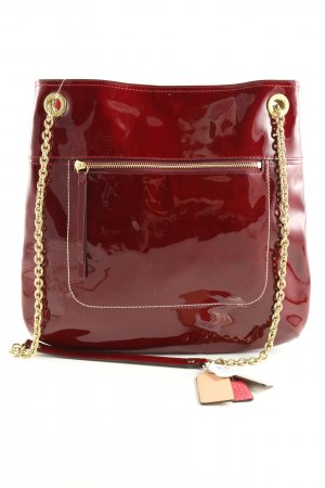 Coach Shoulder Bag red-gold-colored elegant