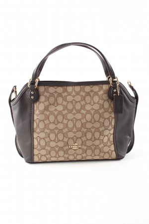 Coach Schultertasche Allover-Druck Business-Look