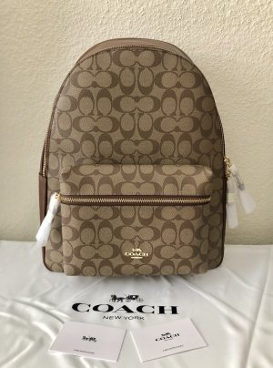 Coach signature Canvas backpack