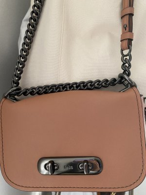 Coach small leather bag