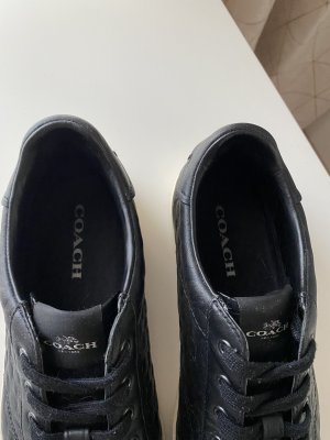 Coach Sneaker schwarz