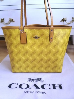 Coach Handbag yellow