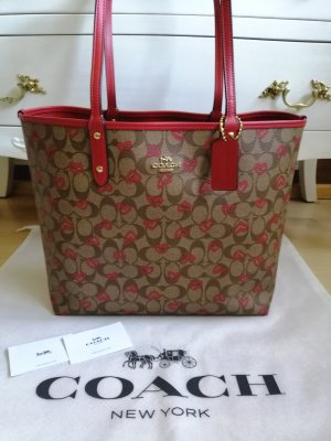 Coach Handbag brown-red