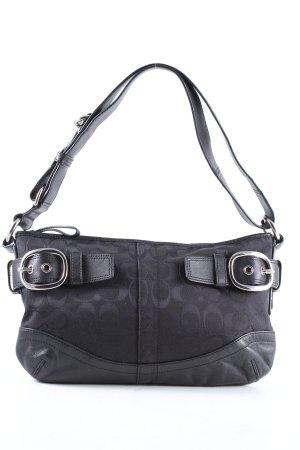 Coach Crossbody bag black-blue allover print casual look