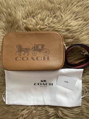 Coach Crossbody bag cognac-coloured-brown