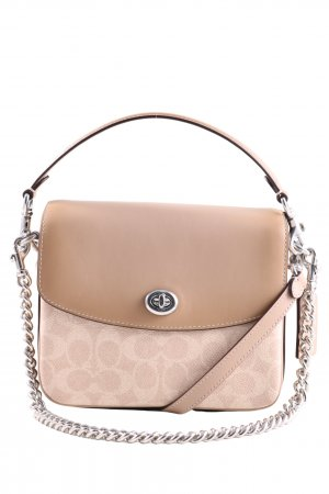 Coach Crossbody bag pink-cream allover print casual look