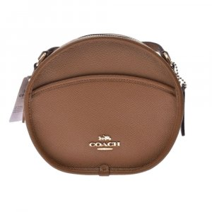 Coach Shoulder Bag brown leather