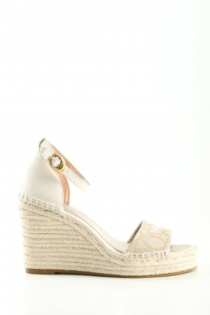 Coach Wedge Sandals natural white casual look