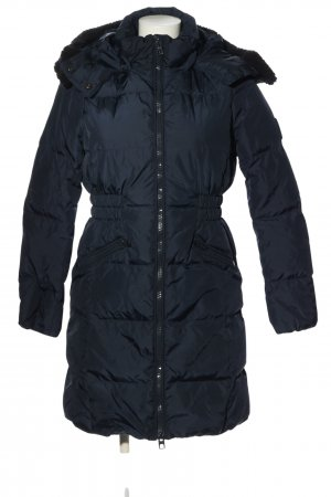 Coach Winter Jacket blue quilting pattern casual look