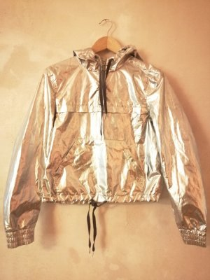 H&M x Coachella Collection Windbreaker silver-colored