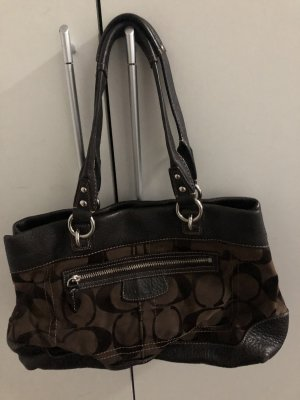 Coach Handbag black-light brown