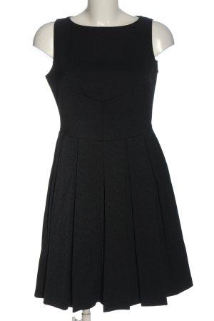 Coast A-Linien Kleid schwarz Allover-Druck Elegant