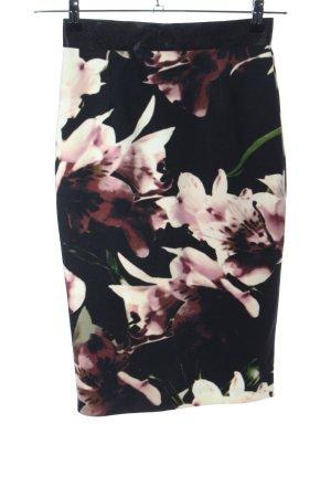 Coast Pencil Skirt flower pattern casual look
