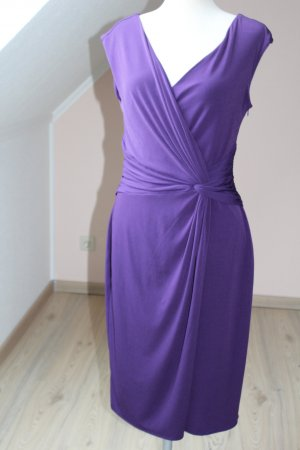 Coast Bodycon Kleid flieder lila Bleistiftkleid Winter UK 12 EU 40