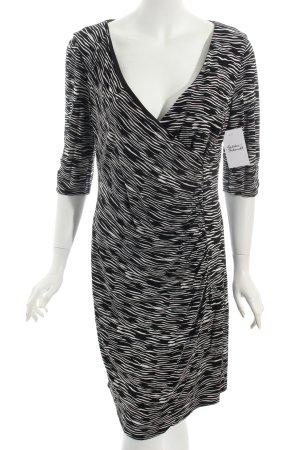 Coast Cocktailkleid schwarz-weiß abstraktes Muster Party-Look