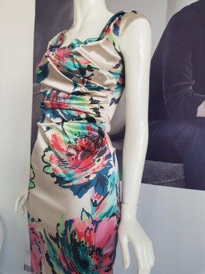 coast designer kleid gefüttert wie neu 34 Raffung