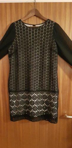 Coast Lace Dress black-natural white
