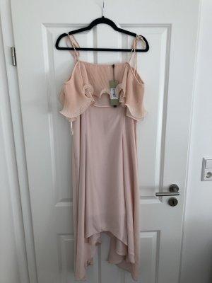 Coast Kleid hellrosa *ungetragen* mit Plissee