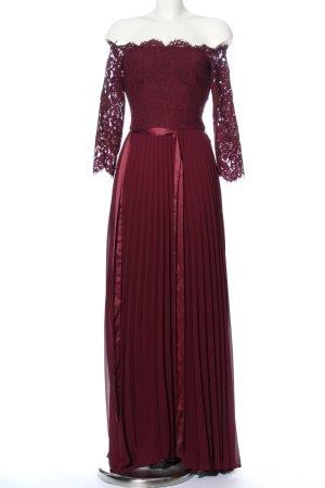 Coast Maxi abito rosso motivo floreale elegante