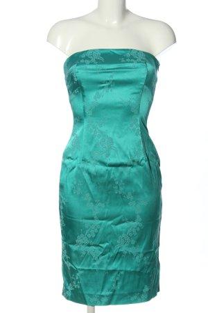 Coast Off the shoulder jurk turkoois volledige print elegant