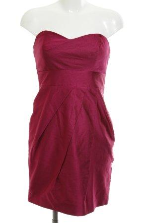Coast schulterfreies Kleid violett Elegant