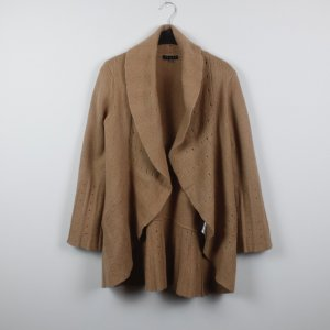 Coast Strickjacke Cardigan Gr. 38 braun Wolle  (*)