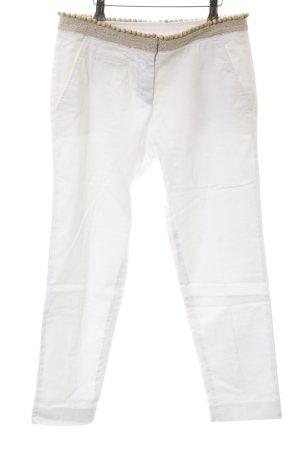 Coast Weber & Ahaus Pantalone a 3/4 bianco stile casual