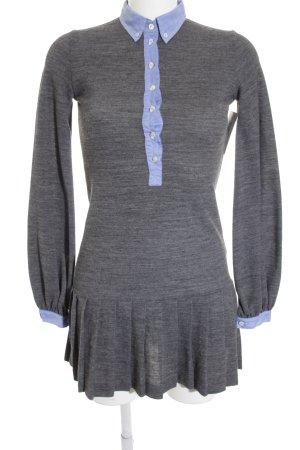 Coast Weber & Ahaus Robe Polo gris-bleuet tissu mixte