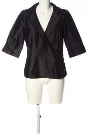 Coast Wickel-Bluse schwarz Casual-Look