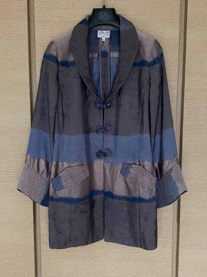 Armani Collezioni Blazer en maille tricotée multicolore