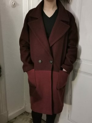 Only Giacca taglie forti bordeaux-rosso scuro
