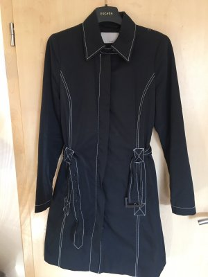 More & More Abrigo de plumón azul oscuro-blanco