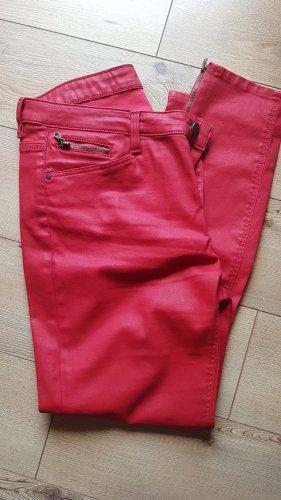 Edc Esprit Pantalón de cinco bolsillos rojo neón Algodón