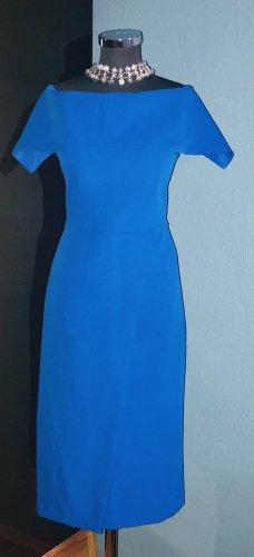 Cobalt Blue Bardot Kleid