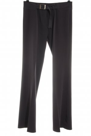 Cobra Bundfaltenhose schwarz Business-Look