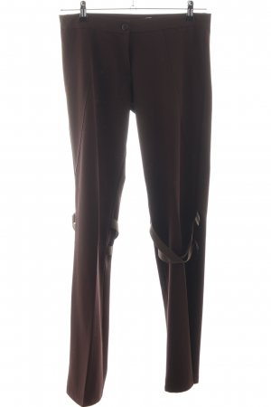 Cobra Pleated Trousers brown casual look