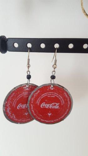 Coca Cola Ohrringe