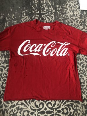 Coca Cola Tshirt in Rot
