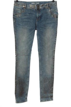 Coccara Biker Jeans blue casual look
