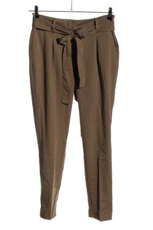 Coccara Pantalone a pieghe marrone stile casual