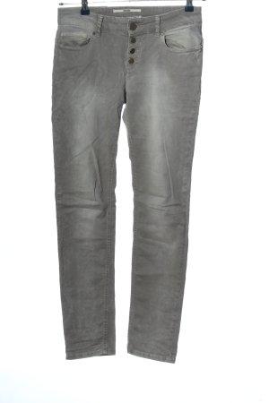 Coccara Pantalone cinque tasche grigio chiaro stile casual